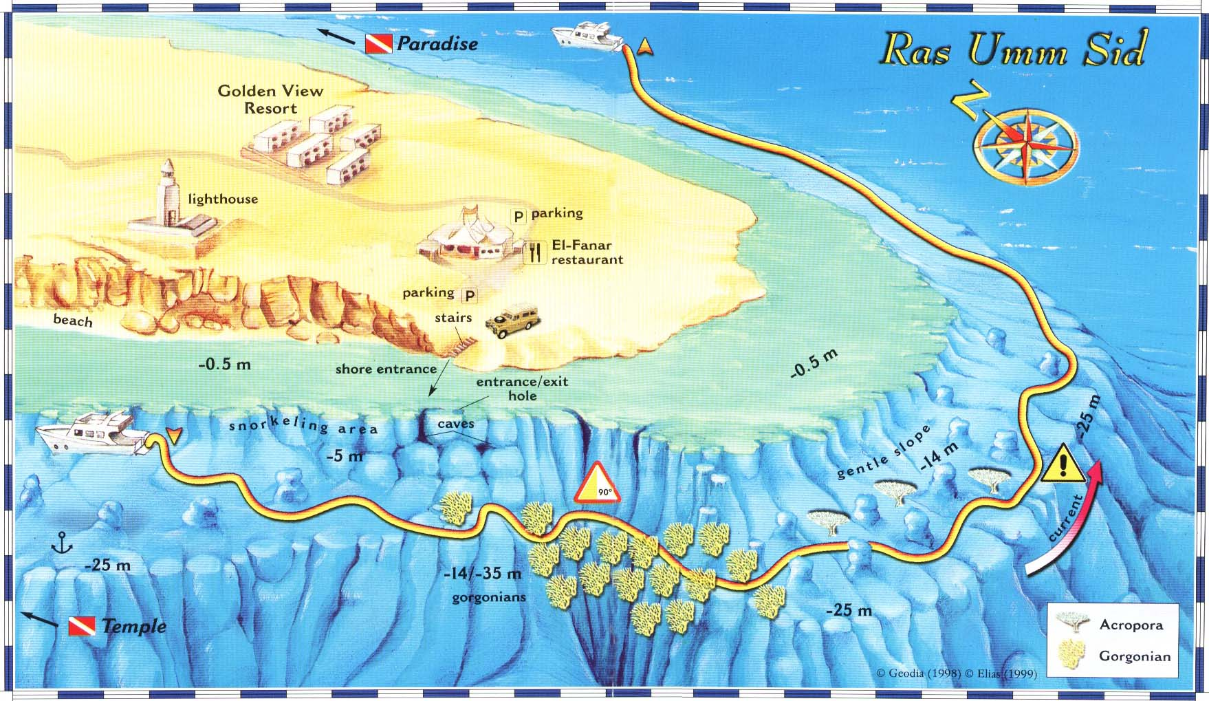Sharm el sheikh dive sites red sea diving packages egypt scuba diving ras umm sidd diving site map gumiabroncs Choice Image