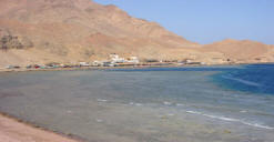 The Blue Hole in Dahab Egypt