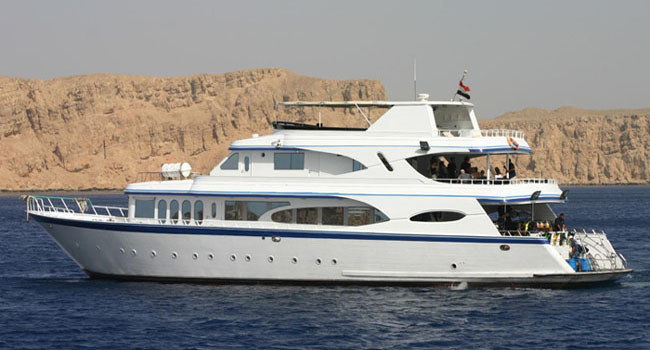 Liveaboard Safari Motor Yachts in all ports of Egypt